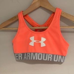 🐝2/$25 UNDER ARMOUR HURLEY Sports bra Size Med
